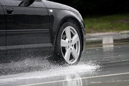 Antischleuderkurs - Aquaplaning