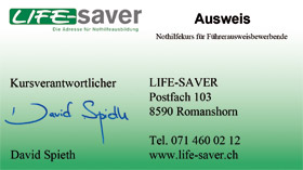 life-saver ausweis