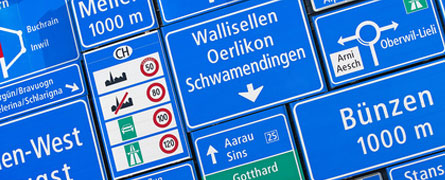Verkehrstafeln